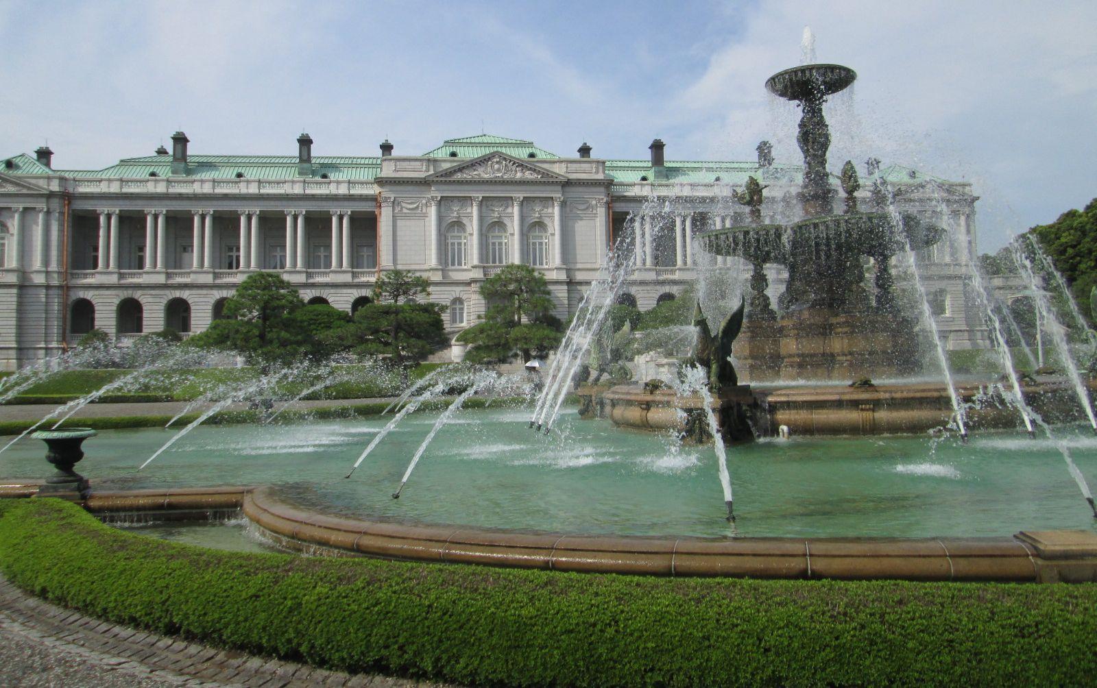 迎賓館赤坂離宮 裏庭の噴水