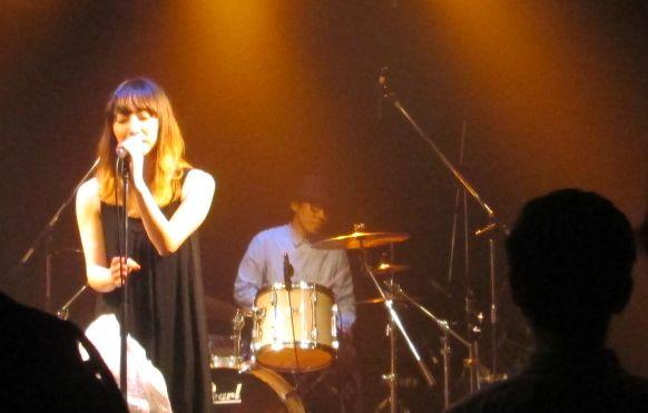 愛ちゃんのライブ